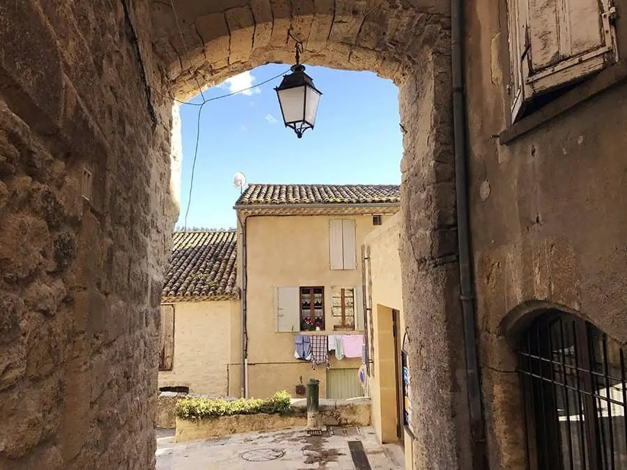 Ansouis, Beautiful Villages of Provence, France.