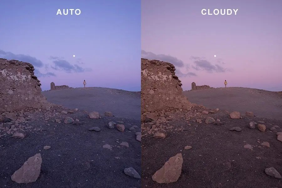 Setting your cameras white balance - tips for setting white balance