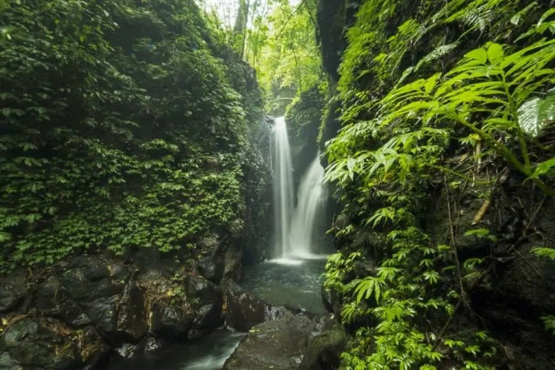 Bali Waterfalls to Visit and Photograph Git Git Twin Waterfalls, Bali, Indonesia