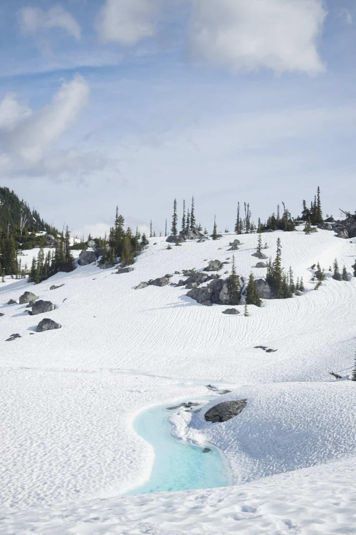 Canada adventure kayaking glacial lakes in British Columbia