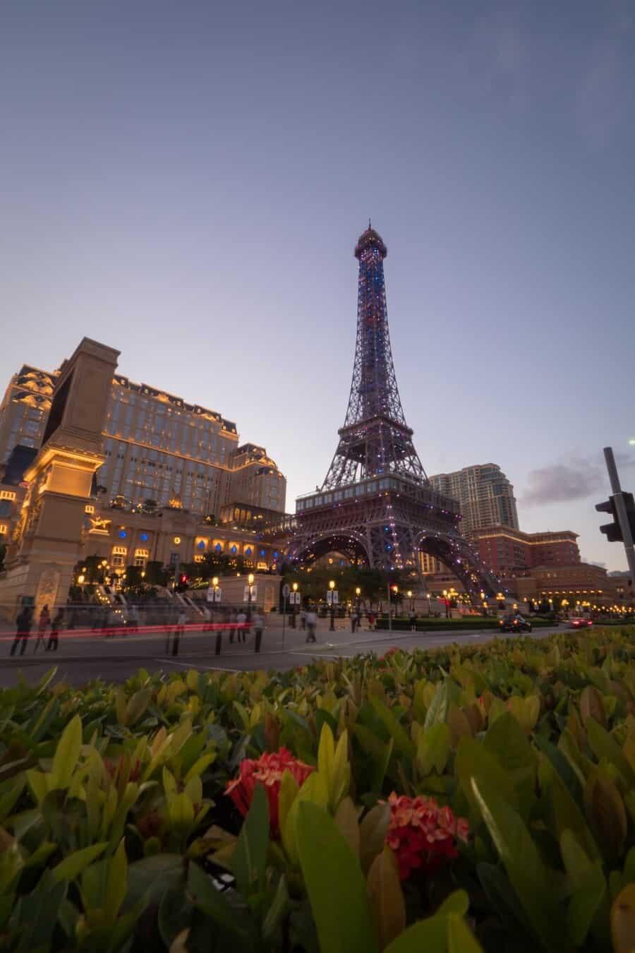 The Parisian Macao - Photography Locations + Casinos