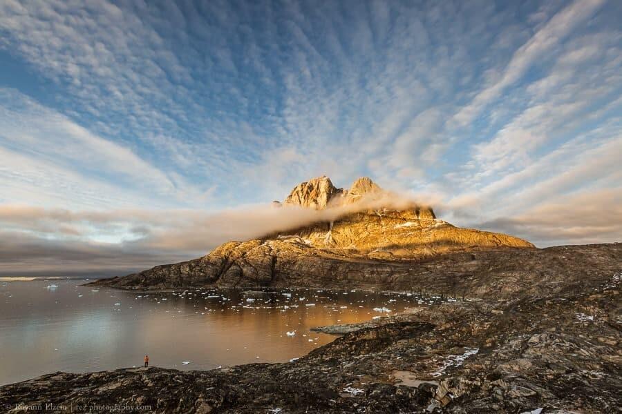 Uummannaq mountain in Greenland
