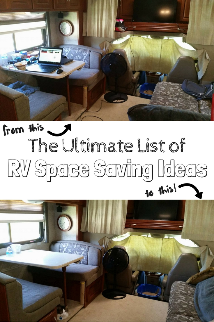 100 Rv Space Saving Ideas For Ultimate Rv Organization Get