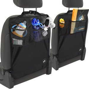 Over-the-seat organizer for motorhomes