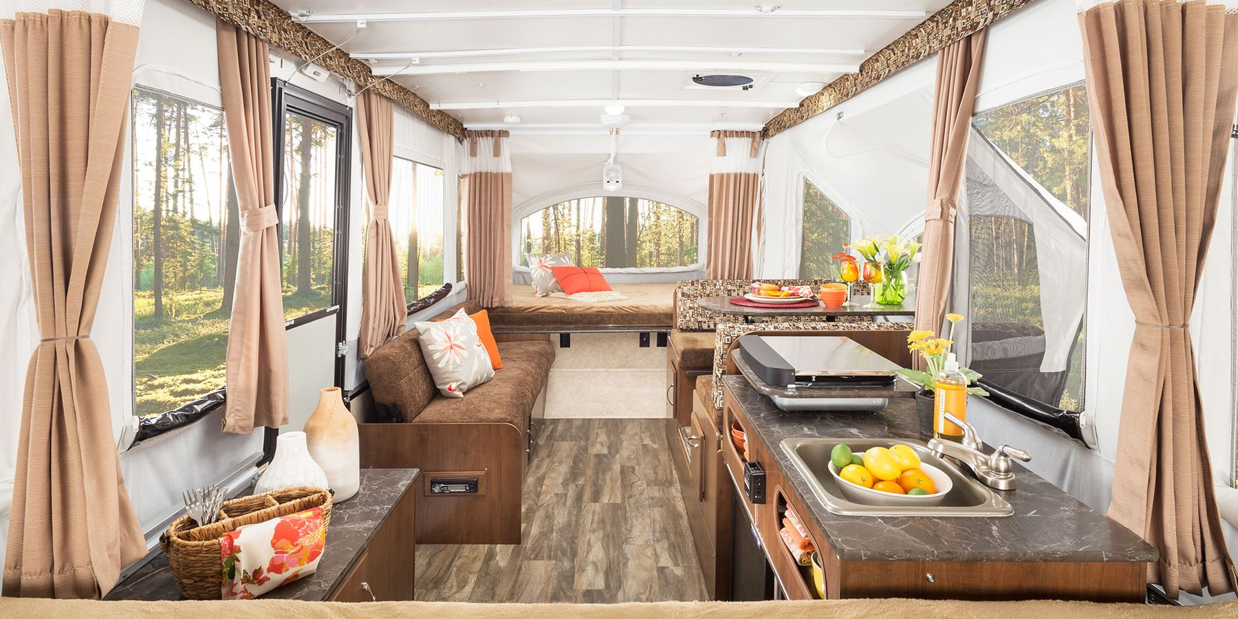 small camping trailers