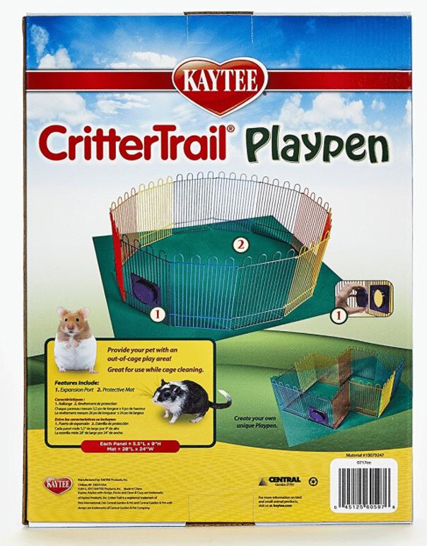 Critter playpen