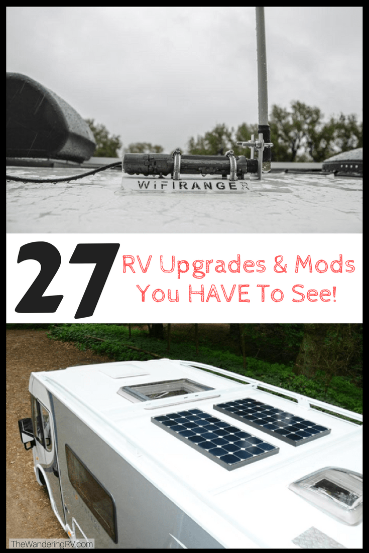 27 RV Upgrades Amp Mods You HAVE To See Plus How To Guides