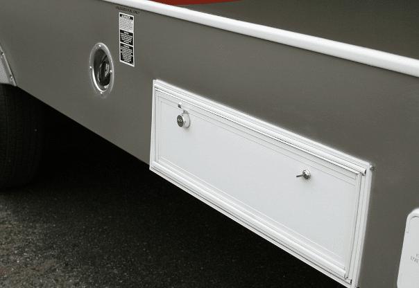 Storage bin locks