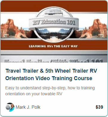 Travel Trailer & 5th Weel RV Training Course