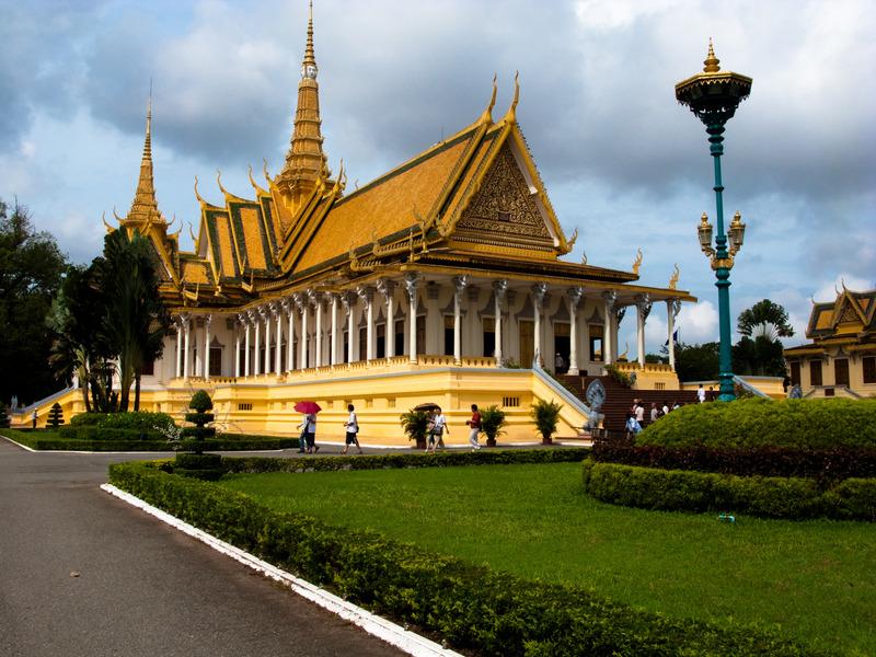 Cambodia Silver Pagoda