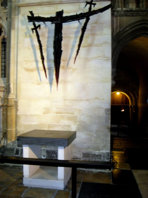 The Martyrdom of Archbishop Thomas Becket, Canterbury Cathedral, England