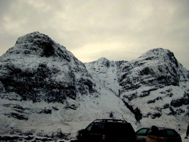 Three Sisters, Scottish Highlands