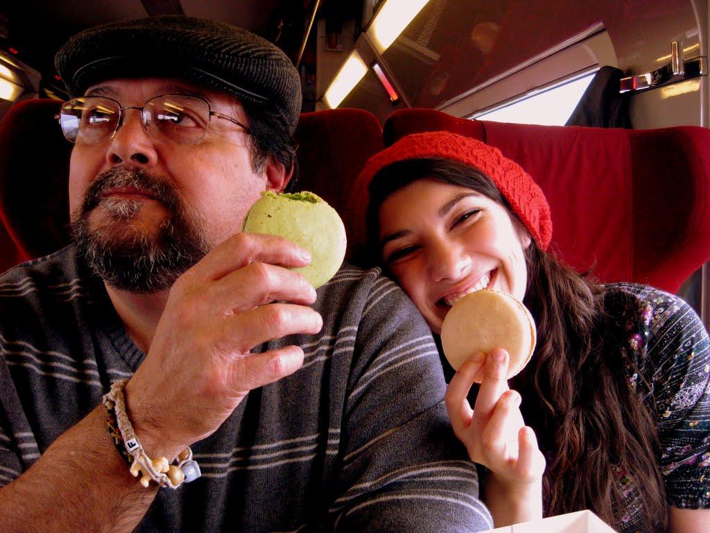 Thalys Train Ride, Paris