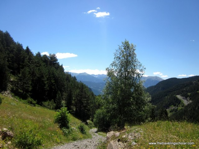 Hiking in the Pyrenees, Andorra