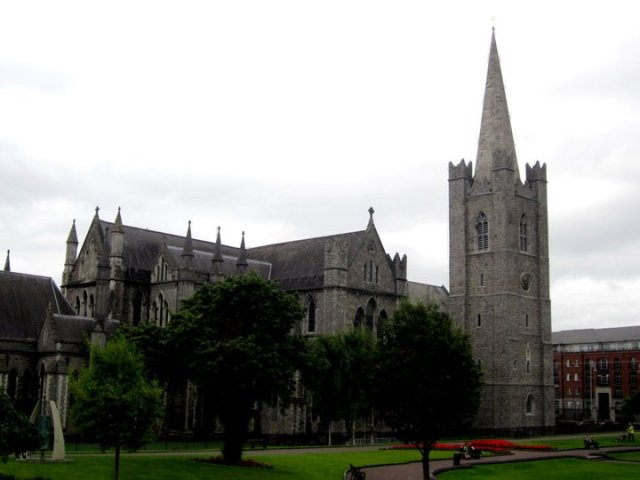 St. Patricks Cathedral, Dublin, Ireland