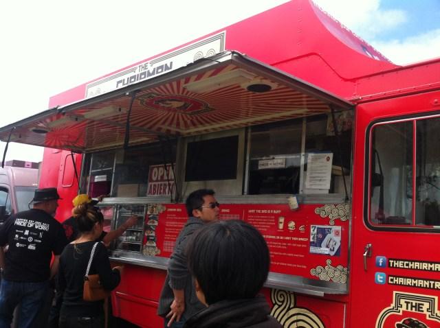 Food Trucks, Treasure Island Flea Market
