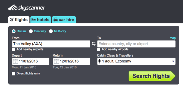 Skyscanner, Travel Tools