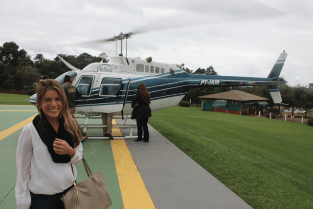 Helicopter Ride with Helisul, Iguassu Falls