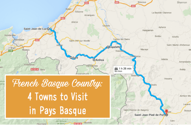 4 Towns to Visit in Pays Basque
