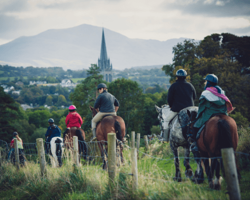 Horseback Riding in Killarney National Park, Ireland