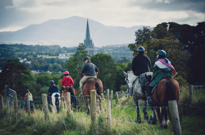 Horseback Riding in Killarney National Park, Ireland