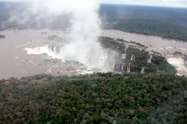 Helicopter Tour with Helisul, Iguassu Falls