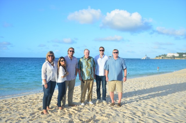 Family Photo shoot, Meads Bay Anguilla