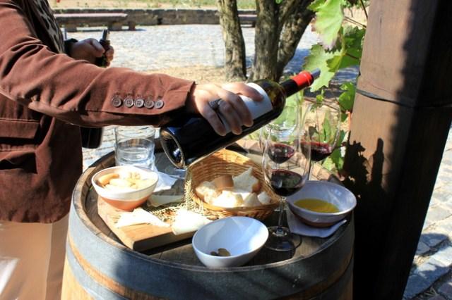 Wine tasting at Bodega Remelluri, La Rioja