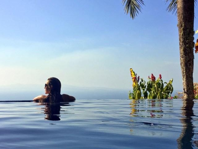 Villa Caletas Pool, Jaco, Costa Rica