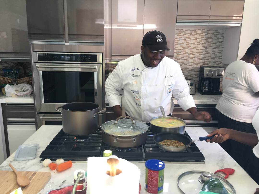 Working with a Private Chef