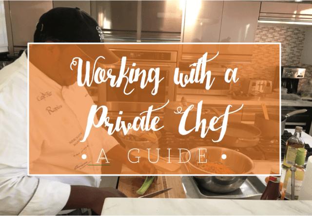 Hiring a Private Chef