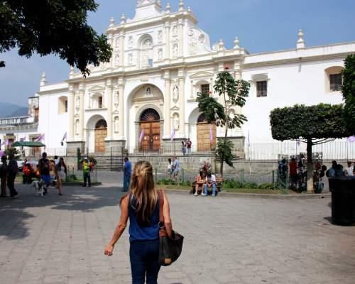 Parque Central, Antigua Guatemala