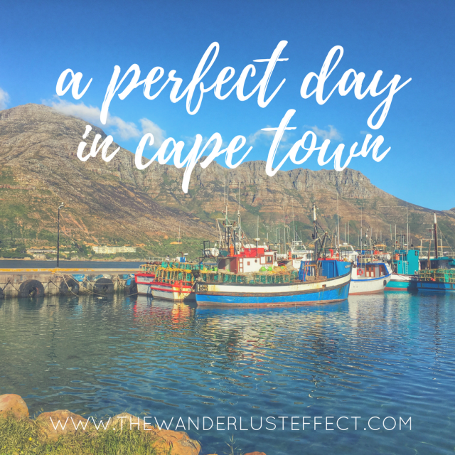 Perfect Day in Cape Town