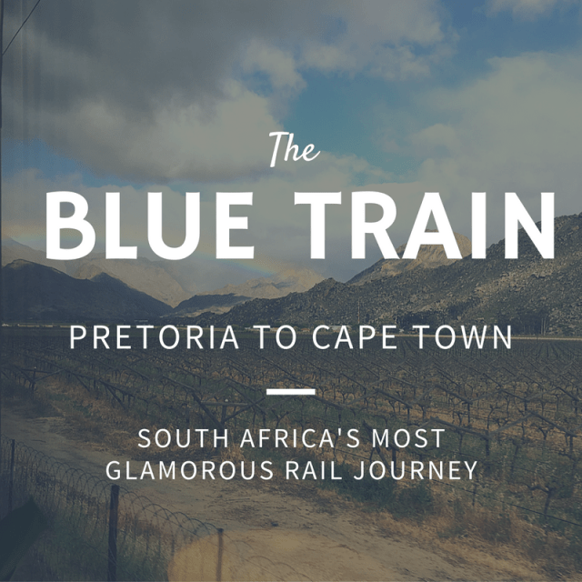 The Blue Train, South Africa