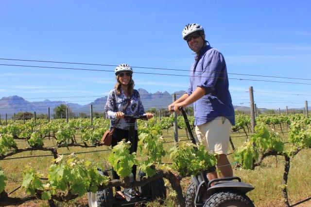Cape Winelands Experiences, Segway Tour Stellenbosch