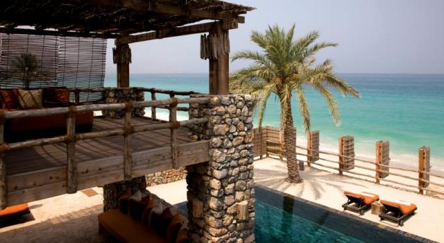 Destinations for Valentine's Day: Six Senses Zighy Bay