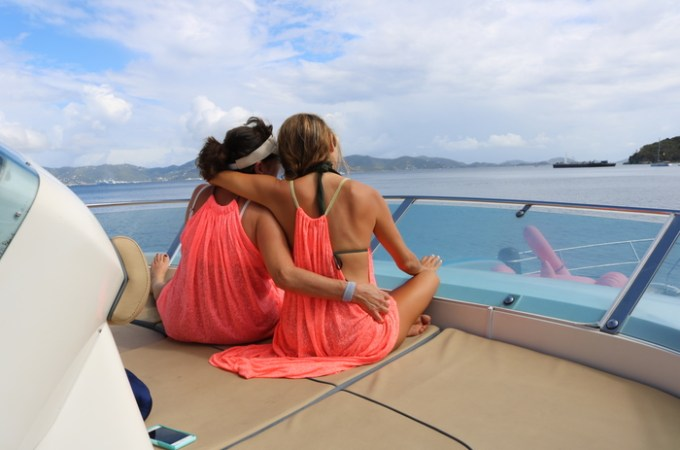 Virgin Motor Yachts at Peter Island, British Virgin Islands