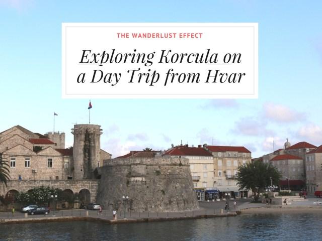 ISLAND HOPPING: Day Trip to Korcula, Croatia