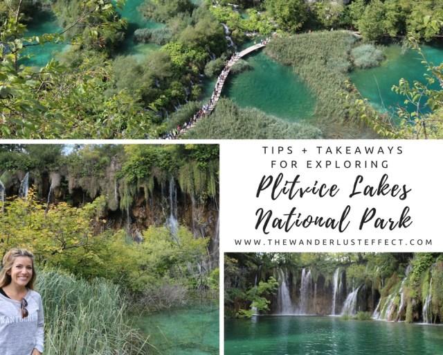 Tips + Takeaways for Exploring Plitvice Lakes National Park