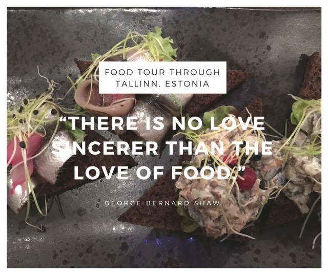 FOOD SIGHTSEEING: Food Tour in Tallinn, Estonia