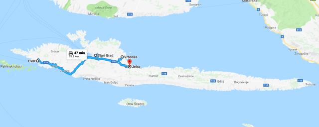 CROATIA: Exploring Hvar by Car