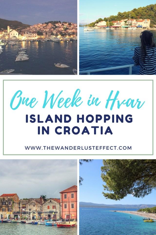 Island Hopping in Croatia: One Week in Hvar