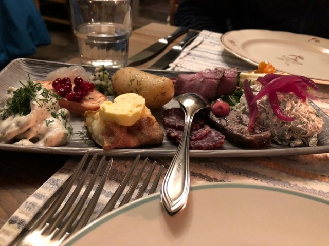 Dinner at Savotta, One Day in Helsinki
