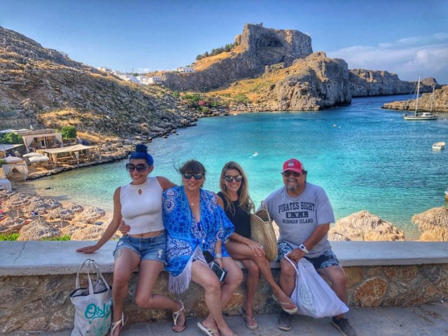 Two Days in Lindos, Rhod
