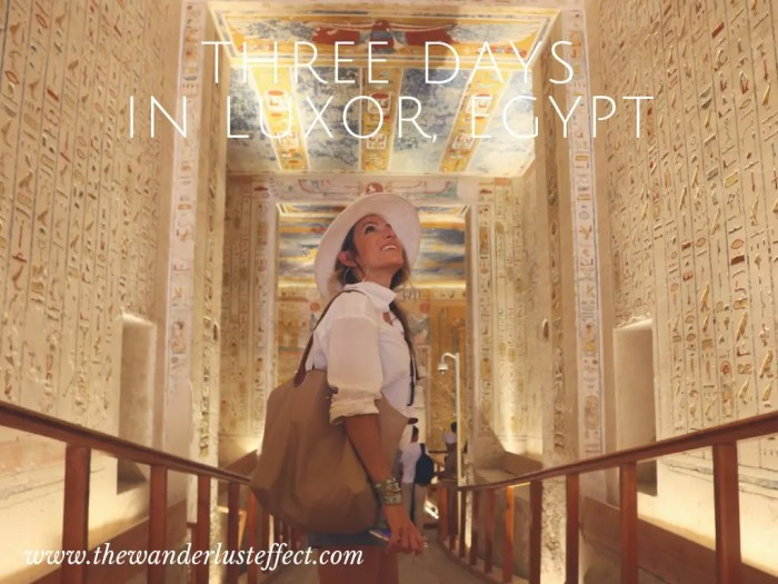 ITINERARY: Three Days in Luxor