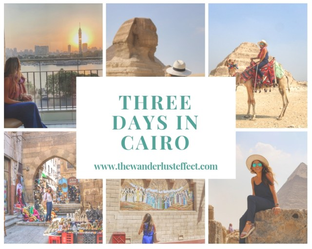 ITINERARY: Three Days in Cairo