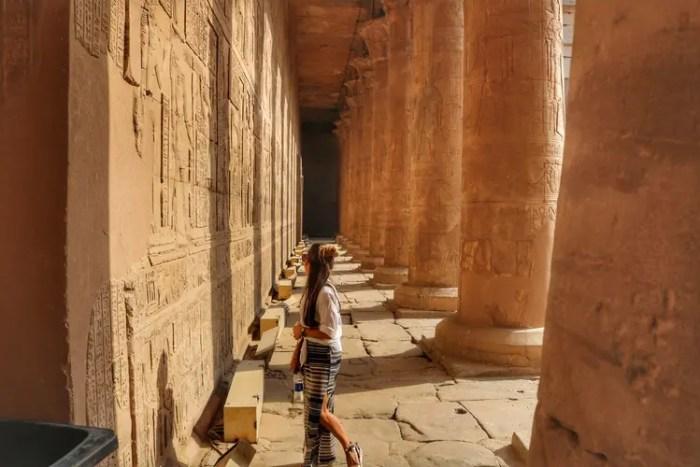 Nour el Nil Itinerary: Edfu