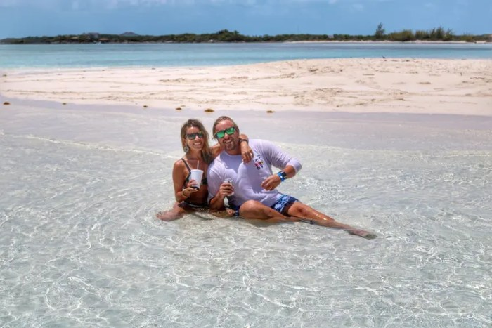 Boating in the Exumas with Sugar Adventures