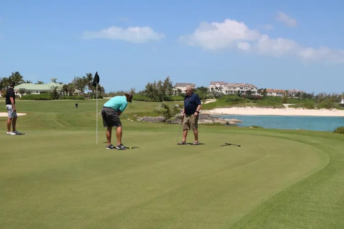 Golf in the Exumas; One Week in the Exumas