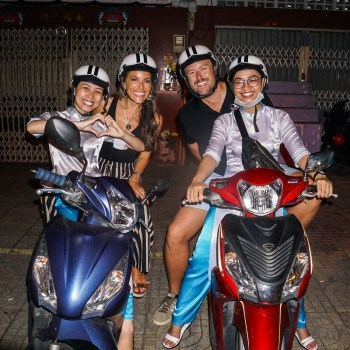 Motorbike with XO Tours